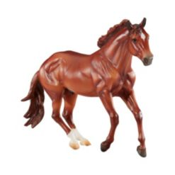 Breyer Horses Traditional Series Checkers Mountain Trail Champion Horse Toy Model