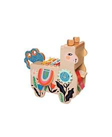 Manhattan Toy Company Musical Llama Wooden Instrument