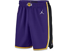 Men's Los Angeles Lakers Statement Swingman Shorts