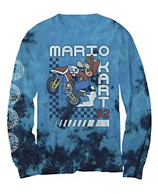 Big Boys Super Mario Kart Bike T-shirt