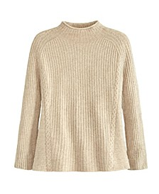 Women's Easy Mock Neck Sweater