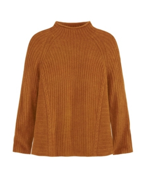 Women's Easy Mock Neck Sweater
