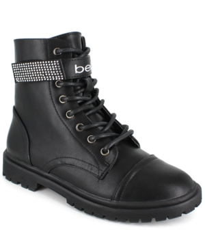 Women's Dayani Strap Logo Boots Women's Shoes