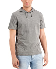 Men's Lightweight Ribbed Hoodie, Created for Macy's