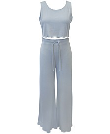 Rib-Knit Sleep Tank Top & Pants, Created for Macy's