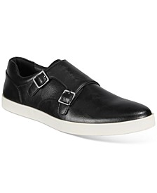 Men's Brandon Double-Buckle Monk-Strap Sneakers, Created for Macy's