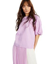 Balloon-Sleeve Top, Created for Macy's