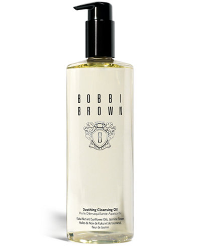 Bobbi Brown Deluxe Size Soothing Cleansing Oil, 13.5oz.