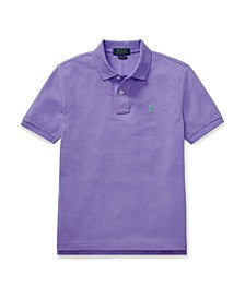 Big Boys Mesh Polo Shirt