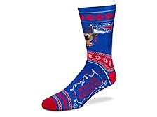 Men's New York Rangers Sweater Stride Socks