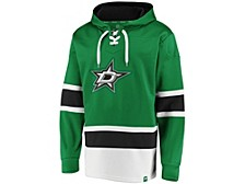Dallas Stars Men's Power Play Lace Up Hoodie