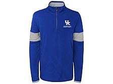 Kentucky Wildcats Kids Colorblock Quarter-Zip Pullover