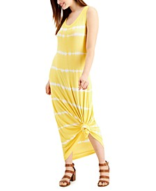 Tie-Dyed Sleeveless Maxi Dress, Created for Macy's