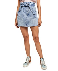 East Of Eden Denim Mini Skirt