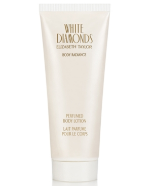 White Diamonds by Elizabeth Taylor Perfumed Body Lotion, 6.8
