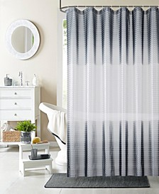 "Mist 3D Shower Curtain Liner, 70"" W x 72"" L"