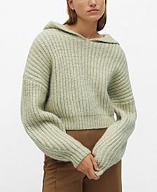 Women's Hooded Knit Sweater