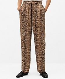 Women's Snake Print Pants