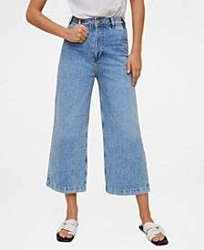 Women's Jeans Culotte High Waist