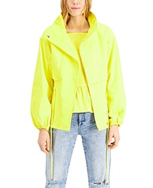 INC Dolman-Sleeve Utility Jacket, Created for Macy's