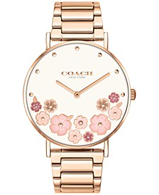 Women's Perry Rose Gold-Tone Bracelet Watch 36mm