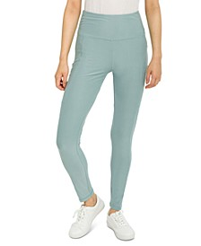 Juniors' Pull-On Side-Pocket Leggings
