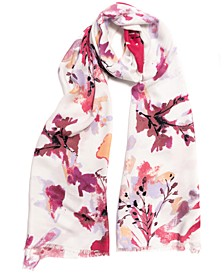 INC Dreamy Floral Pashmina Scarf, Created for Macy's