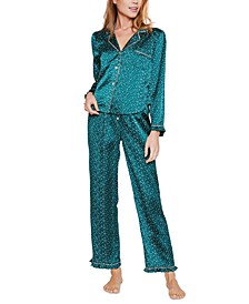 Marilyn Dot-Print Pajama Set