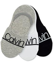 3- Pk. Calvin Klein Logo Sneaker Liners