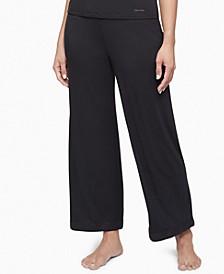 Satin-Trim Lounge Pants QS6527
