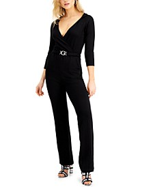 Bree Hooded Cinched-Waist Jumpsuit