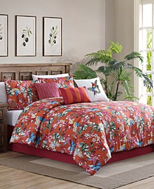 Fiesta Comforter with 6 Bonus Pieces Set, Queen