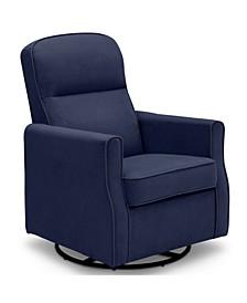 Clair Slim Nursery Glider Swivel Rocker Chair