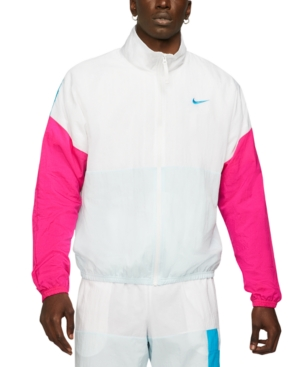 80s Men's Clothing | Shirts, Jeans, Jackets for Guys Nike Mens Retro Basketball Jacket $75.00 AT vintagedancer.com