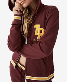 Collegiate Zipper Hoodie