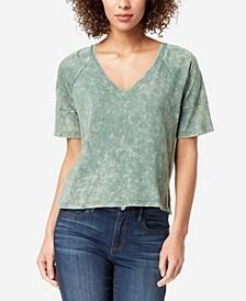 Women's Regular Emerald Zipper Back Top