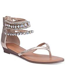 Irina Bling Flat Sandals, Created for Macy's