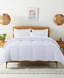 Cozy Down Alternative Reversible Comforter, Full/Queen
