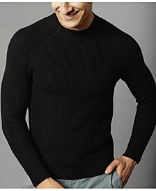 Men's Ribbed High Neck Sweater