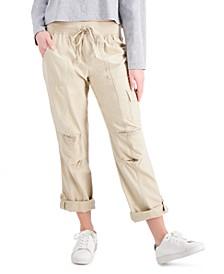 Alton Cuffed Straight-Leg Pants