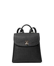Essential Medium Leather Backpack