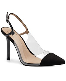 INC Keelie Slingback Pumps, Created for Macy's