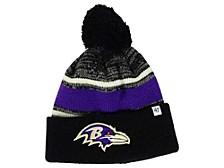 Baltimore Ravens Fairfax Pom Knit