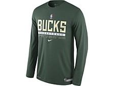 Milwaukee Bucks Men's Practice Long Sleeve T-Shirt