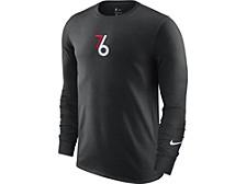 Philadelphia 76ers Men's City Edition Courtside Long Sleeve T-Shirt
