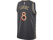 Chicago Bulls Men's City Edition Swingman Jersey - Zach LaVine
