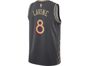 Nike CHICAGO BULLS MEN'S CITY EDITION SWINGMAN JERSEY - ZACH LAVINE