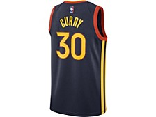 Golden State Warriors Men's City Edition Swingman Jersey - Stephen Curry