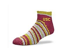 USC Trojans Muchas Rayas Sleepsoft Socks