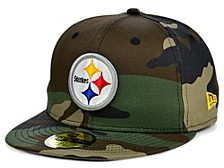 Pittsburgh Steelers Woodland 59FIFTY Cap
